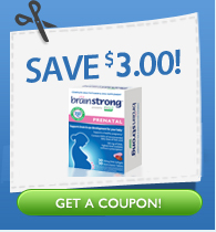 BrainStrong Prenatal $3 Coupon